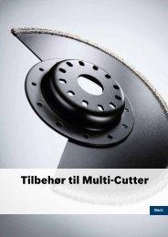 Tilbehør til Multi-Cutter - Bosch elektroverktøy
