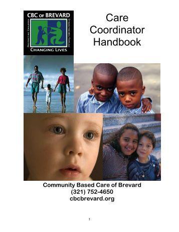 Care Coordinator Handbook 2009 CH - Brevard Family Partnership