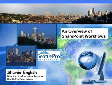 An Overview of SharePoint Workflows - SITPUG