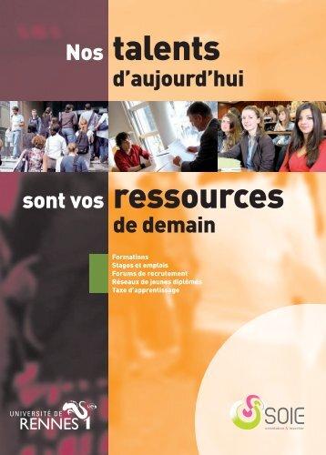 Mise en page 1 - Université de Rennes 1