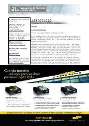 Butlletí d'ATI Catalunya Número 2 – època 2, juliol de 2007 Pàgina ...