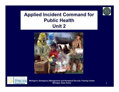 Unit 2 - Office of Public Health Practice