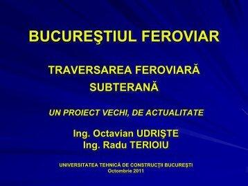 Octavian Udrişte - Club Feroviar Conferences