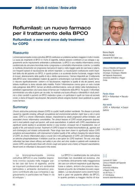 Scarica il documento - Clinica malattie apparato respiratorio