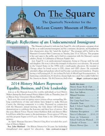 Newsletter June July August 2014