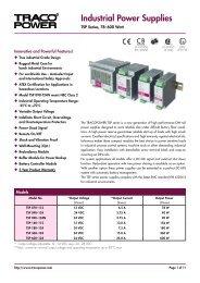 Industrial Power Supplies - ThomasNet