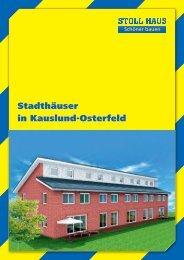 Stadthäuser in Kauslund-Osterfeld - Stoll Haus