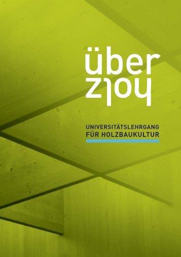 FOLDER zum Lehrgang downloaden - Arch+Ing Akademie