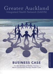 Draft GAIHN business case summary paper - New Zealand Doctor