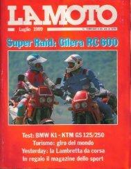 LA MOTO luglio 89 PDF - Gilera Bi4