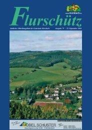 79. Ausgabe vom 25.09.2004 - Gemeinde Morsbach
