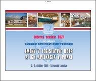 Page 1 Page 2 2. strana 1. Príhovor GR NIP 2. Legislativa v oblasti ...