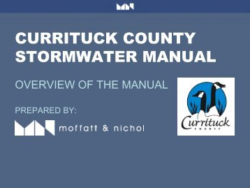 Currituck County Stormwater Public Presentation