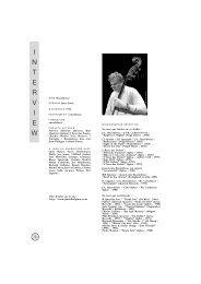 Jean-Louis Rassinfosse - Jazz in Belgium