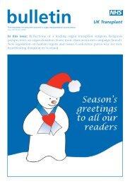 Issue 49 Winter 2003 - Organ Donation