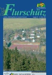 91. Ausgabe vom 26.03.2005 - Gemeinde Morsbach