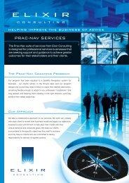 Prac-Nav Business Coaching brochure – For ... - Elixir Consulting
