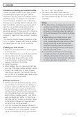 Installation Instructions Solar Module 24 V / 12 W Instrucciones de ... - Page 4