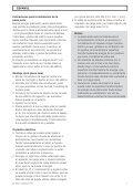 Installation Instructions Solar Module 24 V / 12 W Instrucciones de ... - Page 7