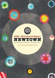 NNC 2009 - 2010 Annual Report - Newtown Neighbourhood Centre