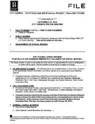 A Public Hearing regarding the Concession ... - City of Bremerton