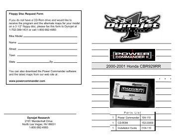 2000-2001 Honda CBR929RR - MPS Racing