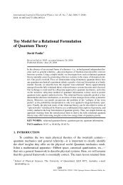 Toy Model for a Relational Formulation of Quantum Theory - EPIQ