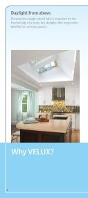 Why Skylights Brochure - Velux - Page 2