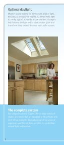 Why Skylights Brochure - Velux - Page 4