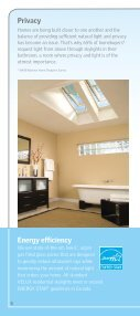 Why Skylights Brochure - Velux - Page 6