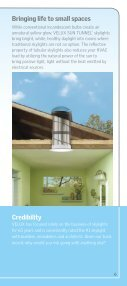 Why Skylights Brochure - Velux - Page 7