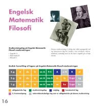 Engelsk Matematik Filosofi - Christianshavns Gymnasium