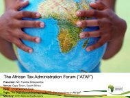 An Overview of Existing Studies on Tax Incentives in Africa - ICTD