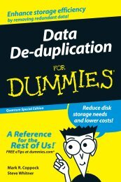 Data De-duplication - Computerworld