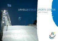 URHEILUKESKUS SPORTS CENTER - Lahti