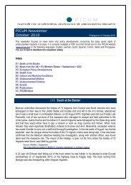 PICUM Newsletter October 2010