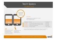 Tech Specs - apprupt