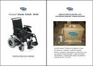 Invacare® Stream 9 km/h - 50 AH Instrucciones de montaje - Ortoweb