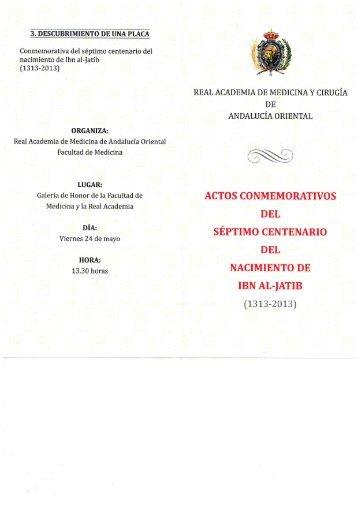 IBN AL-JATIB.pdf - Instituto de Academias de Andalucía