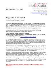 Gesamte Pressemeldung als PDF - Stephanus-Stiftung