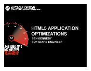 html5 application optimizations - Motorola Solutions LaunchPad ...