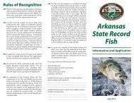 Arkansas State Record Fish Arkansas State Record Fish