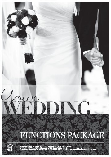 Link for Wedding Package - Hellenic Club