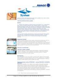Styrofoam - izolacija podzemnih delov zgradbe - Ravago