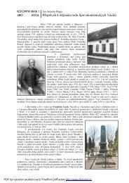 Příspěvek k dějinám lipovokamenických Vacků - rodopisna-revue ...