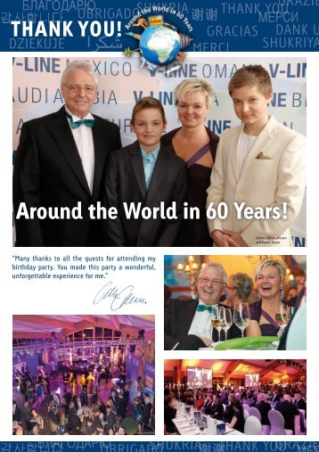 Around the World in 60 Years! - V-LINE