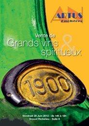 Grands vins spiritueux - artus Enchères