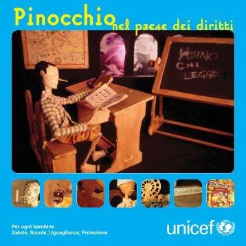 Pinocchio nel paese dei diritti - Unicef