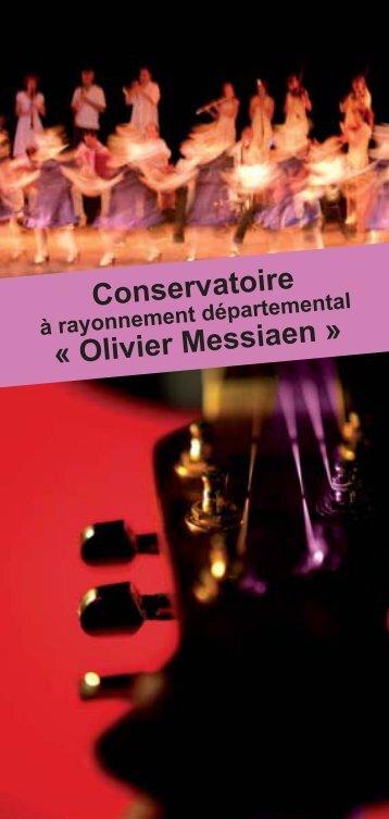Conservatoire « Olivier Messiaen » - Alpes-de-Haute-Provence