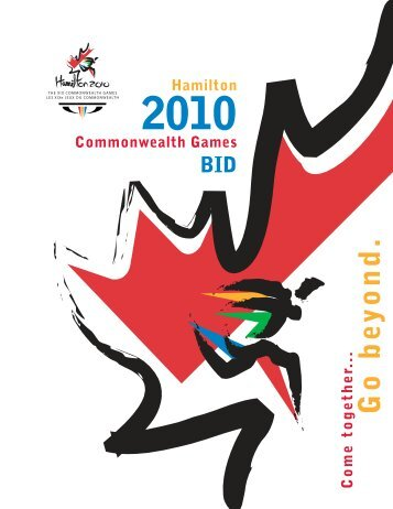 2010 Commonwealth Games BID CONTENTS - Commonwealth ...